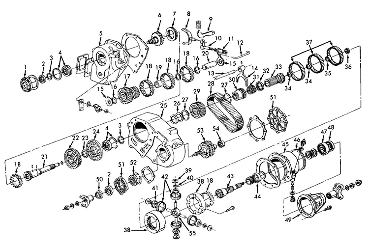 Np203 on 2007 trailblazer parts diagram