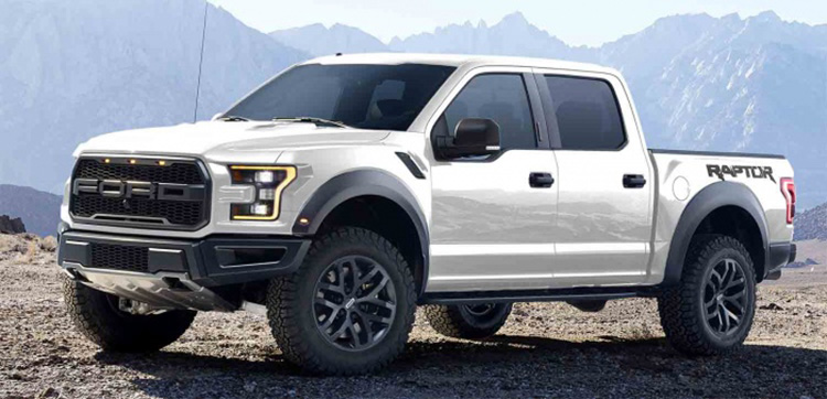 ford raptor aluminum body  hp ecoboost